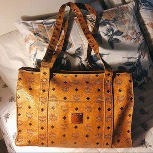 MCM Long Strap Tote Bag